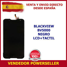 PANTALLA BV5000 BLACKVIEW COMPLETA LCD + TOUCH NEGRO TOUCH SCREEN ENVÍO 24H