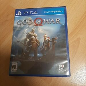 God of War PS4 (PlayStation 4, 2018) Pre Owned