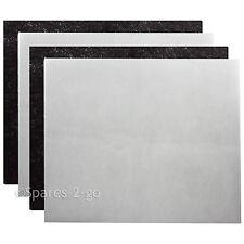 2 x grille ventilation filtres pour brandt hotte mousse filtre coupe pour taille 56cm