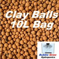 High Top Quality Hydroponic Expanded Clay Balls 10L (3kg) Bag Pebbles Pellets