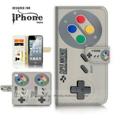 ( For iPhone 5 / 5S ) Wallet Case Cover P21122 Video Game Controller