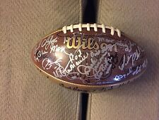 45 NFL Head Coaches Signed Football Gibbs Levy Tomlin Dungy Cowher Holmgren Etc!