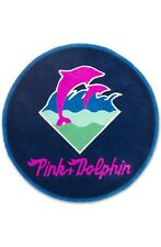 NEW PINK DOLPHIN CLOTHING RUG SUPREME FLOOR MAT CARPT Handmade