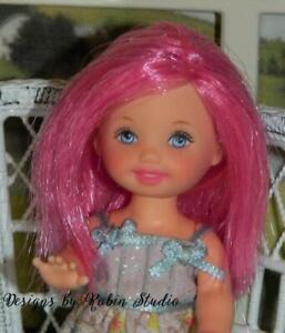 Gorgeous Ooak Kelly Doll~Pink Hair~NUDE