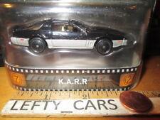 HOTWHEELS Metal Real Rider K.A.R.R Black&Gray Knight Rider Car SCALE 1/64 - NEW!