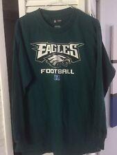 Men's Small Philadelphia Eagles Football Long Sleeve Shirt NFL Team Apparel S