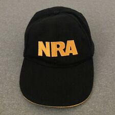 New listing Nra - Usa Flag - Black & Gold - Baseball Cap Adjustable Hat