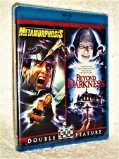 Metamorphosis/Beyond Darkness [1989] (Blu-ray, 2021) NEW David Brandon horror