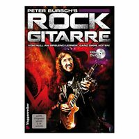 Voggenreiter Peter Burschs Rock Gitarre Lehrbuch Ohne Noten Buch mit CD + DVD