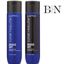 Matrix Total Results Brass Off Color Obsessed Shampoo & Conditioner DUO 2 x300ml