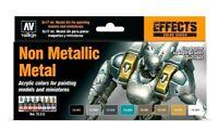 AV Vallejo Non Metallic Metal Acrylic Colour Set For Models