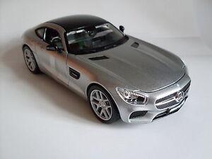 Mercedes-Benz AMG GT silber, Maisto Auto Modell 1:24