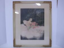 Allene Lamour lithograph ``Message of the roses`` (Louis Icart Style)