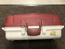 Vintage Plano Tackle Box 2 Tier Tray Red/White Model 6101