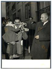 Maurice Bokanowski Vintage silver print,Michel Maurice Bokanowski est un homme