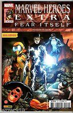 MARVEL HEROES EXTRA n°10 ~+~ FEAR ITSELF ~+~ 2012 panini/marvel