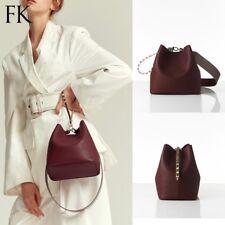 Find Kapoor Women's Pingo Bag Set Leather Hand Shoulder Clutch Strap Burgundy