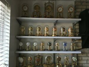 lot of 40 german- kern anniversay-400 day-torsion clock