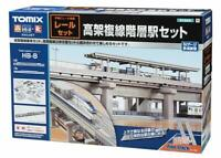 TOMIX N gauge elevated double track hierarchy station set rail pattern HB-B