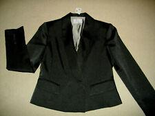 DANNII MINOGUE: Size: 4 P. Slinky Sleek BLACK, 100 Polyester Cami Body Singlet