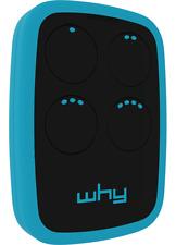 Radiocomando Whyevo 7.0 telecomando multifrequenza rolling code codici fissi new