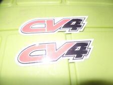 2 NEW ATV MX STICKER DECAL CV4  HONDA TRX 250R 450R LTR 450 YFZ Z400