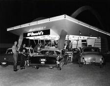 McDonald's Restaurant Large Photo 11X14  - 1950's Speedee Kroc