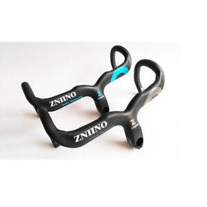 Carbon Fiber Road Bicycle Cycling Bike Stem Racing integrated bending Handlebar