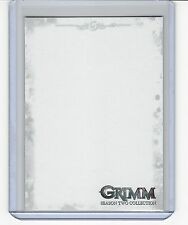 Grimm season 2 Blank sketch card. Sketches were inserted one per case.