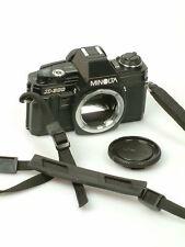 Minolta Analogkamera Bundle mit Tragegurt