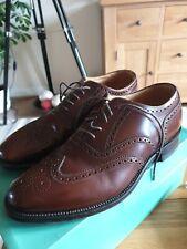 Loake L1 Lorus Brown Leather Brogues Size UK 6½
