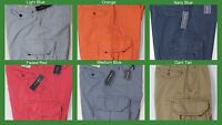 NWT $75 Polo Ralph Lauren Gellar Fatigue Cargo Shorts Mens Blue Orange Red  NEW