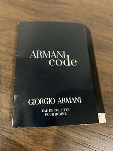 Giorgio Armani - Armani Code  EDT Pour Homme  1.5ml new
