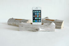 Docking Station for a Smartphone- Driftwood from Maine