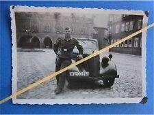 Foto PKW Stabsfahrzeug Opel Wehrmacht Luftwaffe