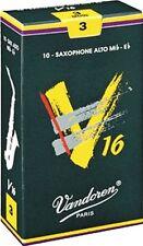 3.0 SIZE VANDOREN V 16 ALTO SAX SAXOPHONE  REEDS BOX OF 10