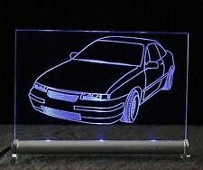 Opel Calibra  als  AutoGravur auf LED-Leuchtschild
