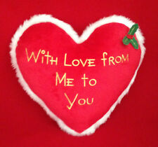 ME TO YOU BEAR TATTY TEDDY WITH LOVE FROM ME TO YOU HOLLY IVY HEART CUSHION GIFT