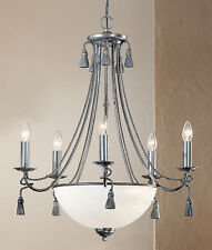 4028 PTR-Chandelier, Pewter, Made In Italy,