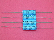 4 x NOS Frolyt / Elyt Germany 100uF 63V Axial Electrolytic Capacitors