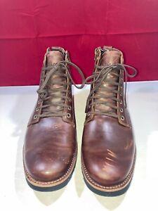 Timberland Kendrick Side Zip Waterproof Brown Boot Men's Size 9