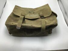 WW2 US Army MUSETTE BAG  Knapsack BBS Co. 1943