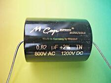 MUNDORF MCAP SUPREME CLASSIC SILVER GOLD 0,82 µf   1200 V SPECIAL PRICE