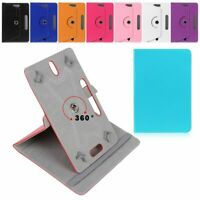 Universal 360 Rotatable Leather Stand Case Cover For Samsung Galaxy TAB 7 Inch