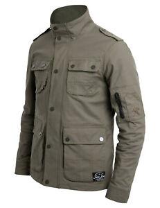 John Doe I Explorer Jacket I Motorradjacke I AAA I olive I inkl. Protektoren