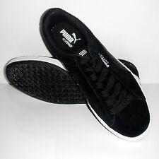 New Puma Men Eco Ortholite Black Suede Studded Sport Sneakers Shoe sz 8.5M