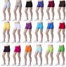 Womens Super Soft Cotton Shorts Elastic Stretch Yoga Sport Knickers UK 8-22