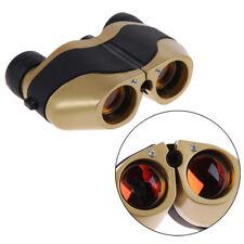 80x120 Spotting LED Scope Binoculars Telescope Optical Zoom 5m-10000M Gold + Bag