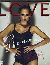SIENNA MILLER UK Love Magazine #4 Autumn/Winter 2010 KATE MOSS KELLY BROOK