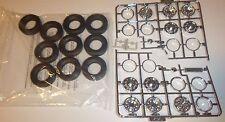 Moebius Big Rig Wheel and Tires set 1/25 MODEL CAR MOUNTAIN Truck LONESTAR